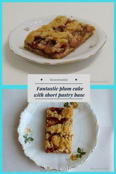 Zwetschgendatschi – a fantastic plum cake with short pastry base Plum Season, Short Pastry, Pastry Dishes, Austrian Recipes, Plum Cake, Cake Tasting, Yummy Cakes, Wordpress, Tasty