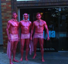 Pink Bodypainting