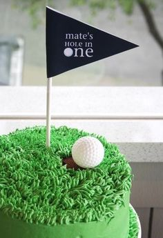 Golf Birthday-Birthday Cake