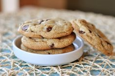 Believe me when I say, this recipe truly is the best of the best for chocolate chip cookies! The chocolate chip cookies are perfect - thick, soft and chewy!