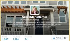 Feb 7, 2014 Twitter #CreekStoneHomes https://twitter.com/creekStoneHomes http://creekstone-homes.com/ #coloradosprings #colorado #homes #womanowned
