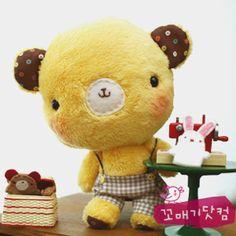 이미지 상세보기 Teddy Bear, Kawaii, Animals, Activity Toys, Bears, Animales, Animaux, Teddy Bears, Animal