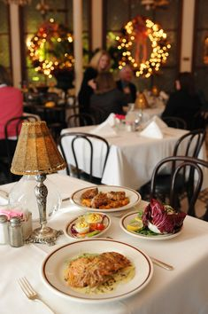 A traditional Reveillon dinner at Arnaud's