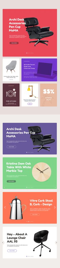 Free PSD. Accessories Template on Web Design Served
