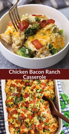 healthy dinner recipes videos This easy, creamy Chicken Bacon Ranch Casserole is a healthy family meal that everyone loves! Made with simple ingredients, freezer friendly, Fast Easy Dinner, Fast Dinner Recipes, Fast Dinners, Lunch Recipes, Healthy Family Dinners, Easy Lean Meals, Cheap Healthy Dinners, Healthy One Pot Meals, Family Recipes