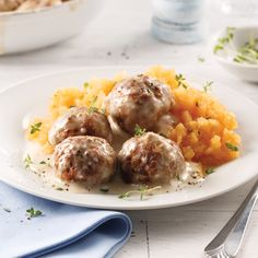 Falafels of coral lenses & tzatziki Minced Meat Recipe, Tasty Meatballs, Healthy Eating Guidelines, Best Meat, Mince Meat, One Pot Pasta, Tzatziki, Cooking Classes, Honey