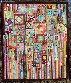 Gypsy Wife Quilt | I finished my gypsy wife quilt! Quilted … | Flickr - Photo…