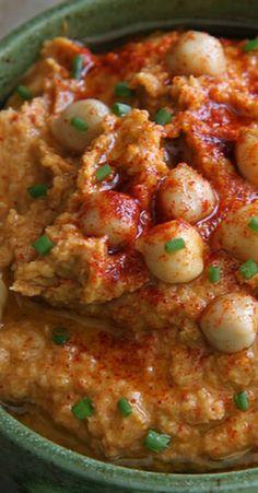 Smokey Artichoke Hummus Dip