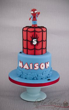 Baby Spiderman Cake