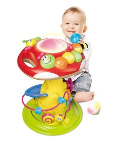 Another great find on #zulily! Rolling 'n Blinking Amazing Mushroom by B Kids #zulilyfinds
