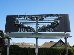 The Dark Knight Rises billboards...