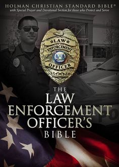 A customized bible for Police Officers. Definitely getting this!