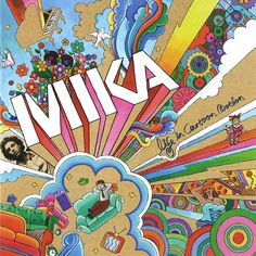 Carátula Cd de Mika - Life In Cartoon Motion
