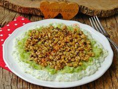Kabak Şayan Fried Rice, Cobb Salad, Pasta, Recipies, Ethnic Recipes, Sunscreen, Foods, Knitting Paterns, Recipes