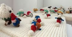 Anna of Mochimochi Land has a new exhibit up at gallery hanahou in New York City called Snowmen vs. Gnomes: The Battle for Mochimochi Land. Fiber artist Anna Hrachovec creates a miniature epic batt...