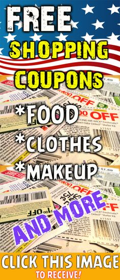 Hey girls! I found this website, where you can receive coupons for your favorite food and clothes!