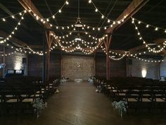 Amanda + Tommy | Houston Station, Nashville, TN | This couple's wedding featured rustic details such as mini pumpkins, wildflowers, and wooden accents. | @southernevents | Southern Sky Event Lighting | B & C BBQ | Faboo Cakes | Import Flowers