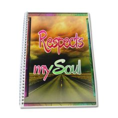 RESPECTS MY SOUL Quaderno A4