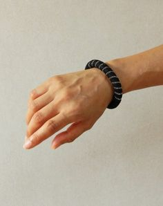 Mali Black bracelet | Vulantri Shop Contemporary Jewelry & Accessories