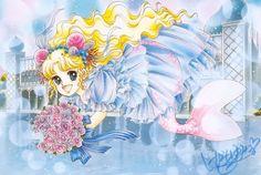 Art by manga artist Yumiko Igarashi. Moe Manga, Manga Anime, Anime Art, Clown Paintings, Old Anime, Drawing Projects, Anime Princess, Manga Artist, Manga Illustration