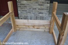 how to build an elevated garden bed table 9