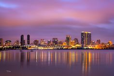 San Diego by night...This will be my new home someday within the next 2 years ( or somewhere close) !!!!!!