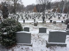 Snowy Greenwood Cemetery. Greenwood Cemetery, Outdoor, Beautiful, Outdoors, Outdoor Games, The Great Outdoors