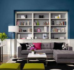 446ad10215b Χρωματοπροτάσεις Envision 2011-3 Καθιστικό, Μπογιές, Sweet Home, Καναπέδες,  Ντουλάπες,