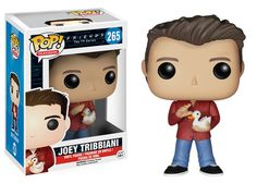 """Vinyl Figure at Mighty Ape NZ. """"How you doin'?"""" From the hit NBC TV series, Friends, comes this Joey Tribbiani Pop! Featuring the stylized Pop! Vinyl likeness of Matt. Tv: Friends, Serie Friends, Friends Tv Show, Friends Moments, Friends Cast, Friends Episodes, Friends Season, Joey Tribbiani, Chandler Bing"""
