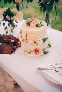 Floral Design: Dushan Flowers - http://www.stylemepretty.com/portfolio/dushan-flowers Cake: Cake by Annie - http://www.stylemepretty.com/portfolio/cake-by-annie Catering: Savoury Chef - http://www.stylemepretty.com/portfolio/savoury-chef   Read More on SMP: http://www.stylemepretty.com/canada-weddings/2014/11/18/rustic-diy-backyard-wedding-in-vancouver/
