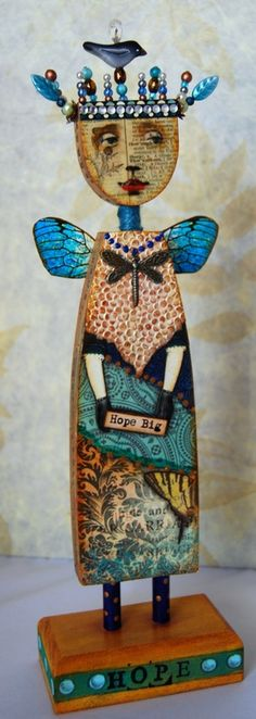 mary Jane Chadbourne Art Doll, lots of other art dolls in her gallery.