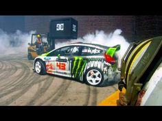 Ken Block and his 2011 Ford Fiesta H.F.H.V. Rally Car   DC SHOES: GYMKHANA FOUR-BONUS EDIT