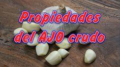 Propiedades del AJO crudo en Ayunas para Adelgazar, Beneficios del ajo, para que sirve el ajo, propiedades curativas del ajo, para que es bueno el ajo. El aj...