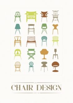 designer chair illustration