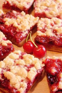 Cherry bars - Delicious Food Recipes