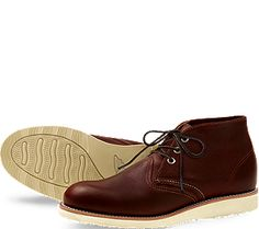 Chukka by Red Wing Shoes, made in Red Wing, MN
