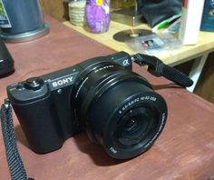 Sony Alpha a5100 24.3MP Digital SLR Camera - Black (Kit w/ E PZ OSS 16-50mm...
