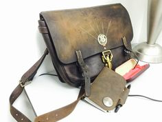 LeatherWerk: Field Notes cover and Packsaddle Bag