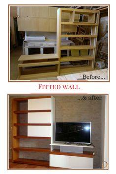 Fitted wall #doridesign #art #creativity #design #diy #wood #furniture