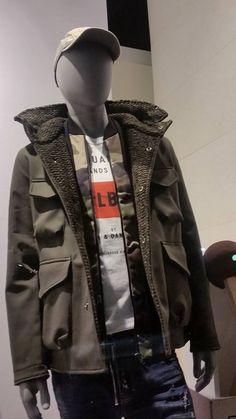 Window display #Omberon Fall14 Leather Jacket, Windows, Display, Fall, Jackets, Fashion, Studded Leather Jacket, Floor Space, Autumn