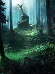 Oui je sais encore une image dans les bois Ces temps-ci et surtout à l'approche des fêtes mon esprit est disons... rêveur. Les arbres et autres forêts enchantées ne se bousculant pas trop à Paris, ...
