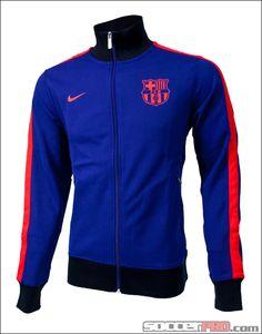 Nike Barcelona N98 Track Jacket - Royal Blue with Challenge Red...$80.99
