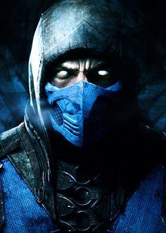 Mortal Kombat - Sub Zero #mortalkombatx #subzero