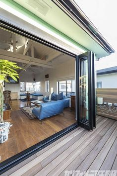 SURFER'S HOUSE REFORM in 横浜 | カリフォルニア工務店 House With Balcony, Surf House, Girl Bedroom Designs, Interior Garden, Balcony Design, Tiny House Plans, Home Design Plans, Building A House, Beautiful Homes