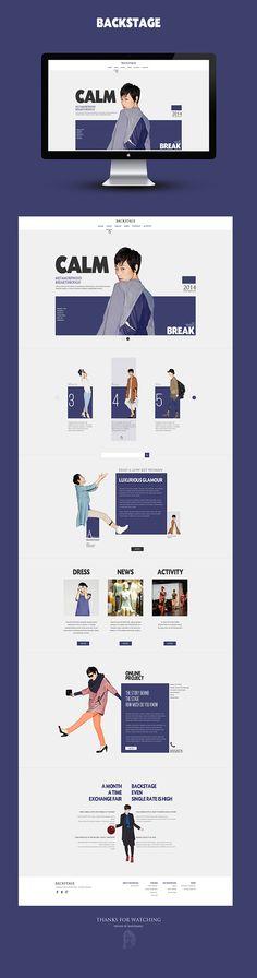 +CLOTHING WEB+ on Behance