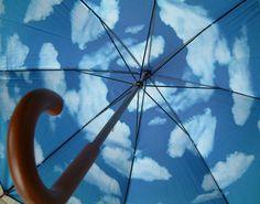 Tibor Kalman sky umbrella