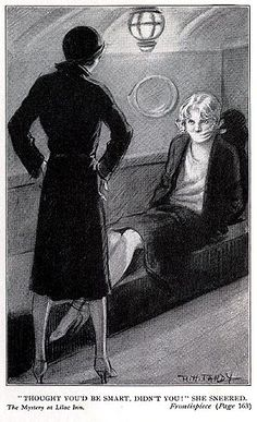 Love it how almost very Nancy Drew book has at least one kidnapping!! :)