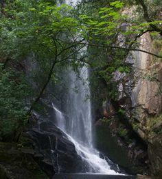 Cascada de Aiguacaida en Pantón