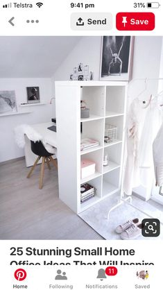 Beautiful modest Home Office Design Suggestions - Here really is actually our ma. Beautiful modest Home Office Design Suggestions – Here really is actually our main smaller home o Home Office Design, Home Office Decor, Office Style, Office Ideas, Office In Bedroom Ideas, Cool Bedroom Ideas, Room Divider Ideas Bedroom, Ikea Room Ideas, Ikea Room Divider