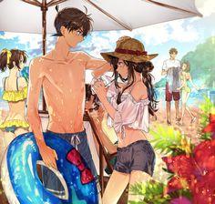 """ろあ on Twitter: """"夏は彼女と海に行こう https://t.co/3KUdQrkCZM"""""""